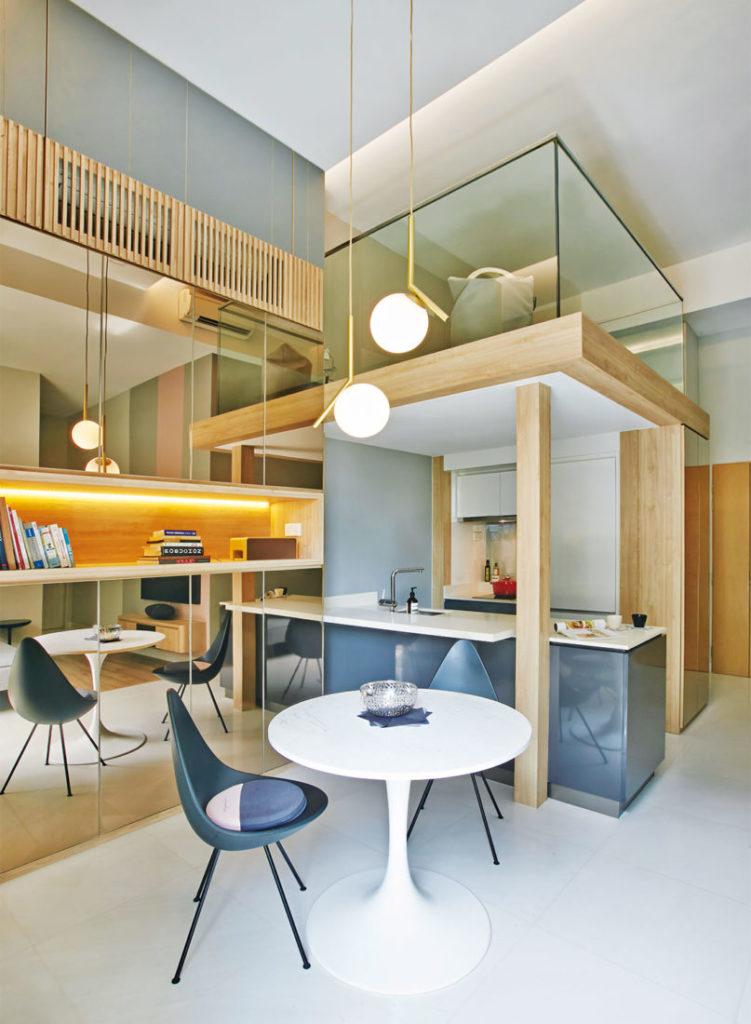 Shoebox apartment Design of Schatz