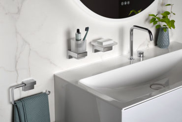 Cue bathroom accessories from emco Bad