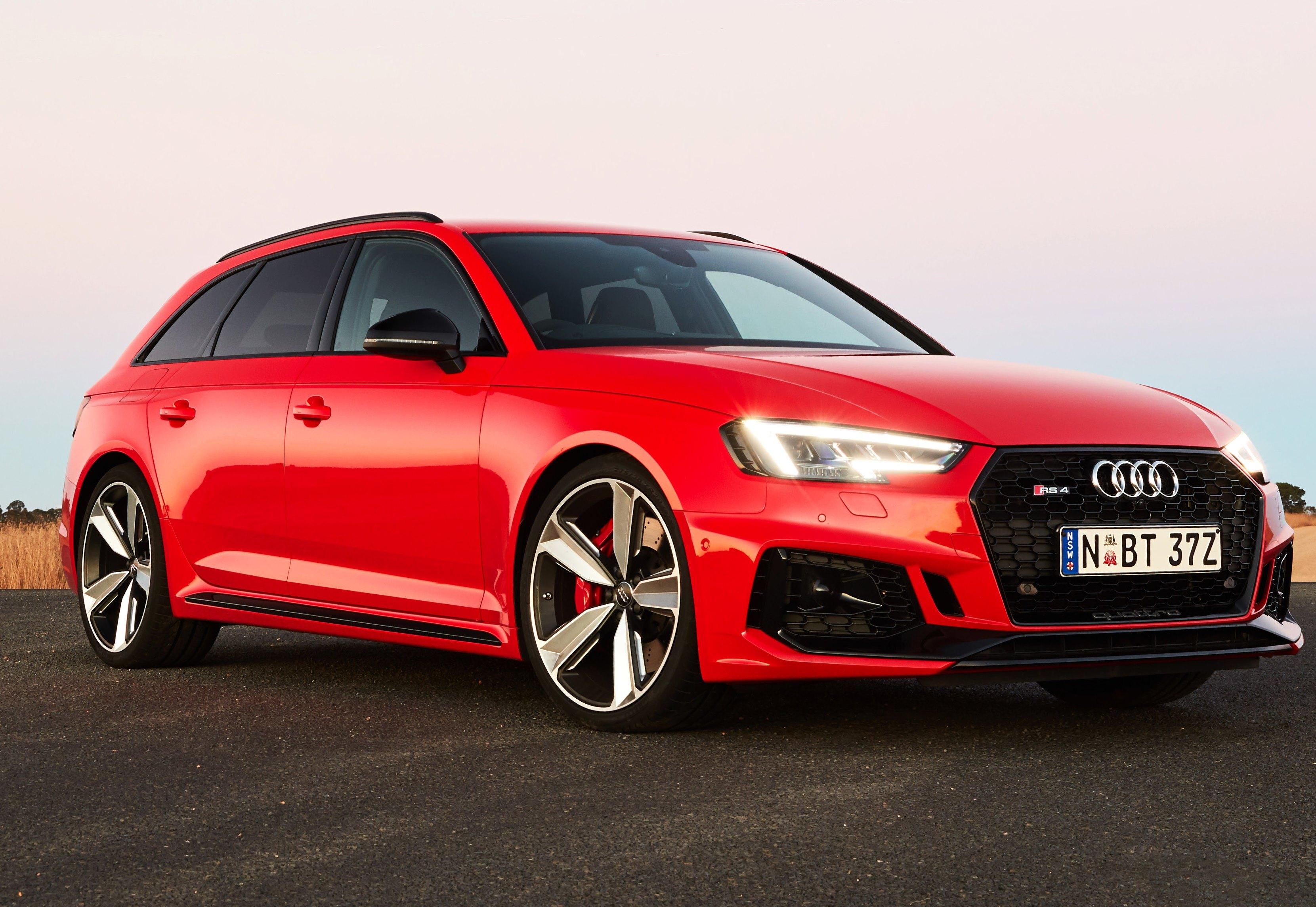Audi RS4 AVANT QUATTRO Price Australia