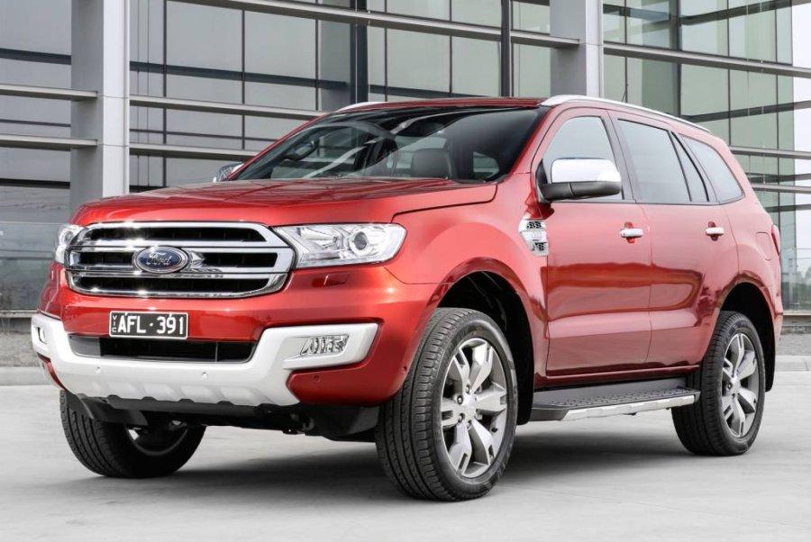 Ford Everest TITANIUM (4WD 7 SEAT) Price Australia