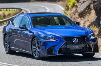 Lexus LS 500 SPORTS LUXURY Price Australia