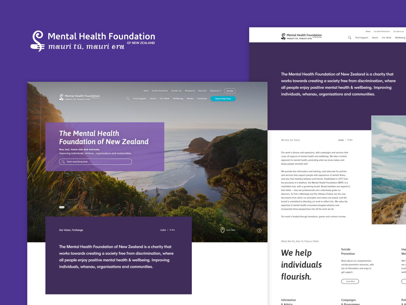 Mental Health Foundation - Content Driven Website