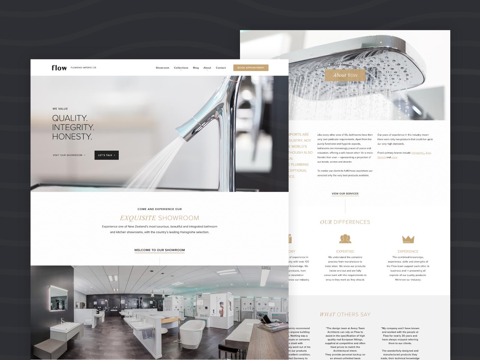 Flow Plumbing Imports - Website