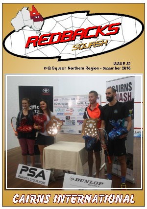 Redbacks Squash Newsletter December 2016