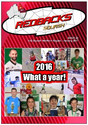 Redbacks Squash Newsletter December 2016