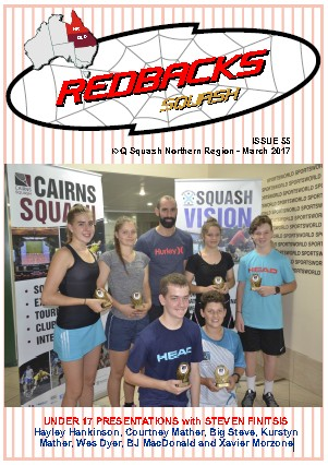 Redbacks Squash Newsletter March 2017