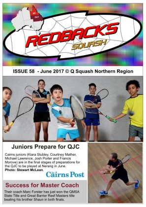 Redbacks Squash Newsletter June 2017