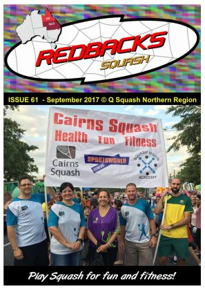 Redbacks Squash Newsletter September 2017