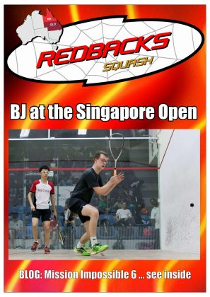 Redbacks Squash Newsletter January 2018