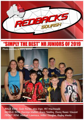 Redbacks Squash Newsletter December 2018