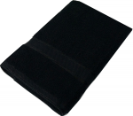 Kingtex Towel Black