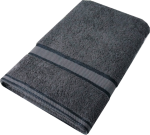Kingtex Bath Sheet Charcoal