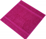 Kingtex Face Washer Fuchsia