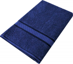 Kingtex Bath Sheet Navy