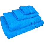 4 Piece Kingtex Towel Set Aqua Blue