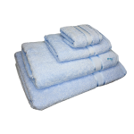 4 Piece Kingtex Towel Set Baby Blue