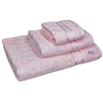 3 Piece Kingtex Bath Sheet Set Baby Pink