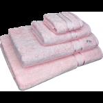 4 Piece Kingtex Towel Set Baby Pink