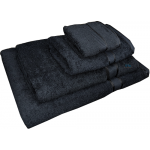 4 Piece Kingtex Towel Set Black