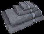 4 Piece Kingtex Towel Set Charcoal
