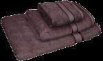 3 Piece Kingtex Towel Set Chocolate