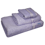 3 Piece Kingtex Bath Sheet Set Lilac