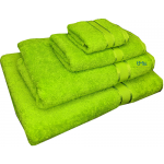 4 Piece Kingtex Towel Set Lime