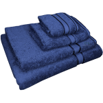 4 Piece Kingtex Towel Set Navy
