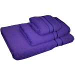 3 Piece Kingtex Towel Set Purple