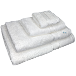 4 Piece Kingtex Towel Set White