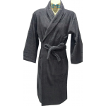 Ariana Terry Toweling Robe Charcoal L/XL