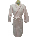 Softouch Terry Toweling Robe Soft Pink L/XL