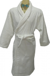Ariana Terry Toweling Robe White S/M