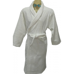 Ariana Terry Toweling Robe White L/XL