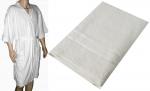 Adult Kimono Waffle Robe and Bath Sheet set