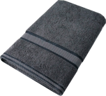 Kingtex Towel Charcoal