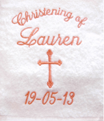 Christening Towel Template 3