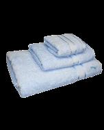 3 Piece Kingtex Towel Set Baby Blue