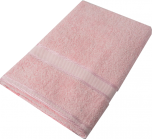 Kingtex Bath Sheet Baby Pink
