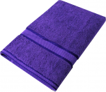 Kingtex Bath Sheet Purple