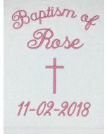 Baptism Towel Template 6