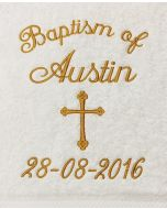 Baptism Towel Template 8