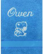 Child's Puppy Towel