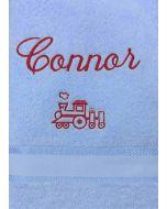Child's Train Towel