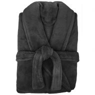 Microplush Robe by Bambury Pewter