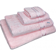 4 Piece Kingtex Towel Set Baby Pink