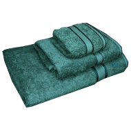 3 Piece Kingtex Towel Set Forest