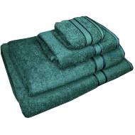 4 Piece Kingtex Towel Set Forest