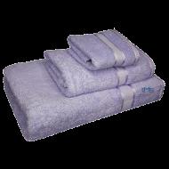 3 Piece Kingtex Towel Set Lilac
