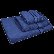 3 Piece Kingtex Towel Set Navy